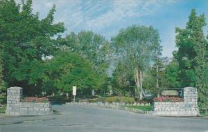 Entrance to City Park,KELOWNA, British Columbia, 40-60´s