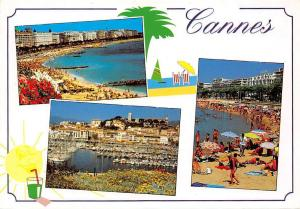 France Cannes French Riviera, Cote d'Azur different views, plage strand 1993