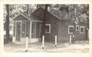 LP97 Shafer Lake Indiana Postcard RP Cottage