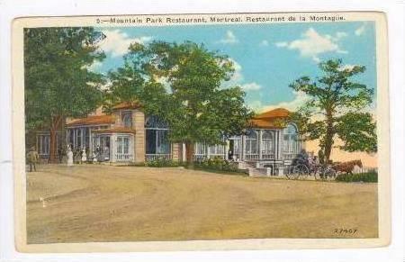 Montreal, Quebec, Canada, 1910s  Mountain Park Restaurant