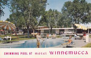 Swimming Pool , Motel Winnemucca , WINNEMUCCA , Nevada , 40-60s