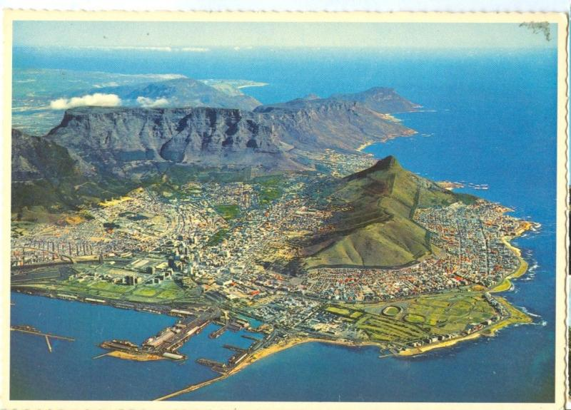 South Africa, Cape Peninsula, Cape Town, unused Postcard