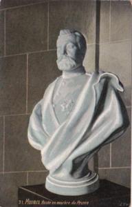 Monaco Buste en Marbre du Prince