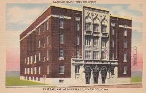 Iowa Waterloo Masonic Temple York Rite Bodies