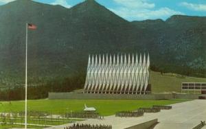 US Air Force Academy, near Colorado Springs, Colorado, un...