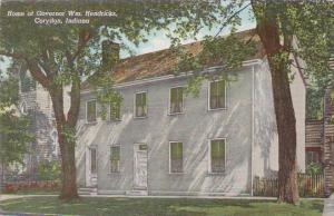 Indiana Corydon Home Of Governor Wm Hendricks
