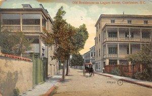 Old Residences on Legare Street Charleston, South Carolina