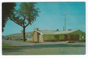 Kentland, Indiana, Early View of The Triway Inn Motel
