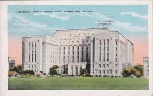 Alabama Birmingham Jefferson County Court House 1930
