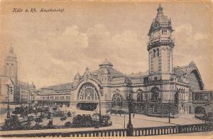 Koeln am Rhein Hauptbahnhof Station