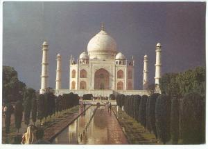 India, the Taj Mahal, 1994 used Postcard