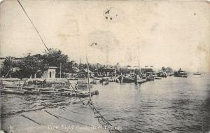 br104182 right bank shatt el arab real photo iraq