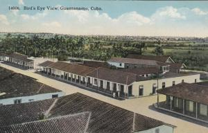 GUANTANAMO , Cuba , 00-10s ; Bird's Eye View