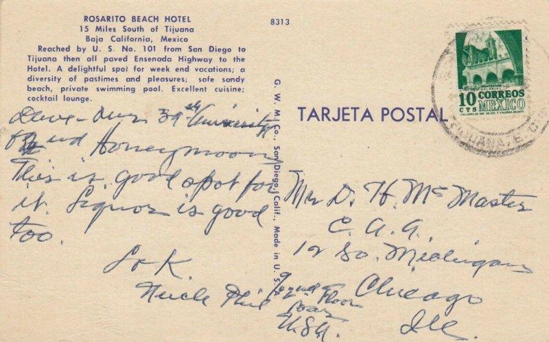 BAJA CALIFORNIA, Mexico, 1930-40s ; Rosarito Beach Hotel