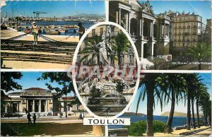 Modern Postcard Toulon Gate of the French Riviera
