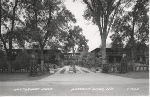 Wisconsin Dells WI ~ Multnomah Lodge ~ c1948 RPPC Postcard