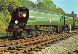 Postcard SR West Country Class 4-6-2 No. 21C123 Blackmore Vale ETW Dennis No.35