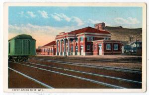 Depot, Green River WY