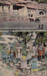 Manitou , Colorado , 1914 ; Cliff Dwelling Indians