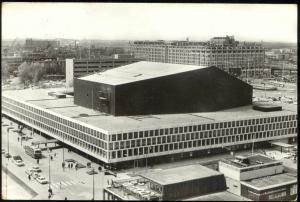 netherlands, ROTTERDAM, De Doelen Concert Building (1971) RPPC