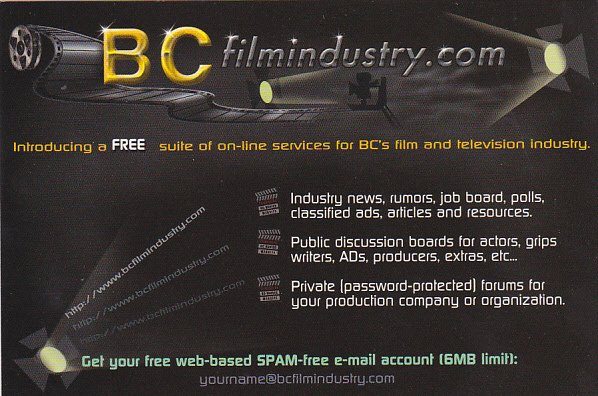 British Columbia Film and Television Industry