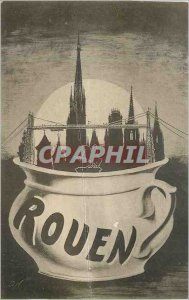 Old Postcard Rouen