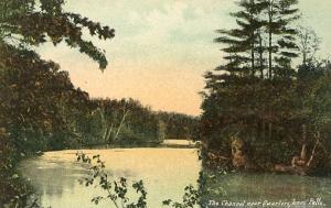 Canada -  Ontario. The Channel near Quarters, Jones Falls