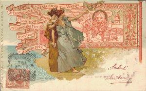 Esposizione Internazionale D'Arte in Venezia Art Nouveau 04.28
