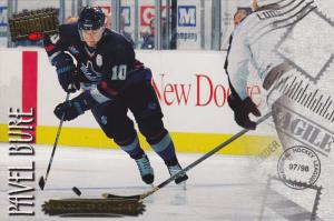 Ice Hockey Player - Pavel Bure, VANCOUVER CANUCKS, Canada, 1998