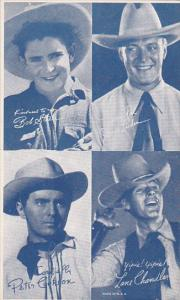 Cowboy Arcade Card Bob Steele Jack Luden Peter Cookson Lane Chandler