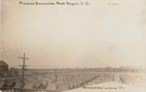 RP: PORT ROYAL , SC, 1900-10s ; Marine Barracks; Camp No1
