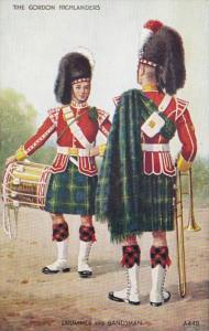 Military Uniforms The Gordon Highlanders Drummer and Bandsman