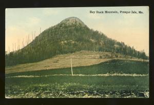 Presque Isle, Maine/ME Postcard, Hay Stack Mountain