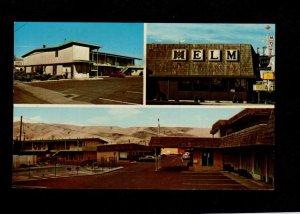 ID Sacajawea Lodge Motel Hotel Helm Restaurant Lewiston Idaho Postcard