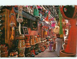 Vintage Postcard The Market Mercado Matamoros Reynosa Mexico    # 1108