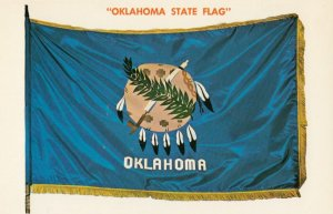 OKLAHOMA , 1950-60s ; State Flag