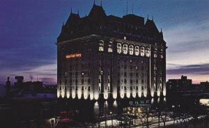 Exterior,  The Fort Garry Hotel,  Winnipeg,  Manitoba,  Canada,  40-60s