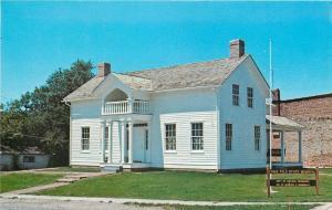 Vermillion County Indiana~Ernie Pyle Memorial~Dana, Indiana~July 4th 1976 PC