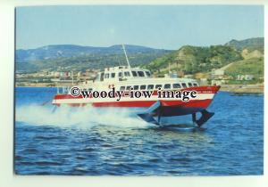 FE0447 - Italian Hydrofoil Ferry - Freccia Del Peloro - postcard