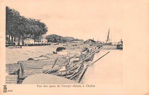 Cholon Vietnam, Viet Nam Vue des quais de l'arroyo chinois Cholon Vue des qua...