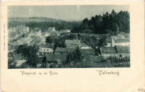 CPA Vergezicht op de Ruine VALKENBURG NETHERLANDS (604541)