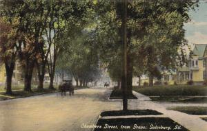 GALESBURG, Illinois, 00-10s; Chambers Street, from Grove