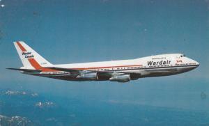 WARAIR Canada Boeing 747 Jet Airplane , 60-70s