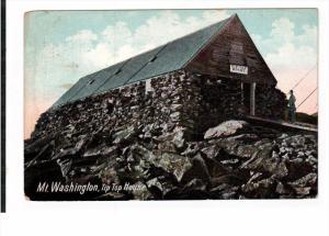 NEW HAMPSHIRE, PU-1909; Mt. Washington, Tip Top House
