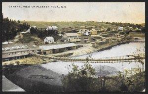 Walking Bridge At Plaster Rock New Brunswick CANADA Used c1909