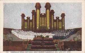 Tabernacle Organ And Choir Great Mormon Tabernacle Salt Lake City Utah