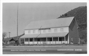 Eastman Studios Siskiyou California Museum Yreka 1930s RPPC Photo Postcard 12657