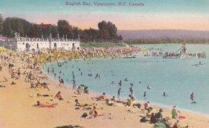 VANCOUVER, British Columbia, Canada, 1900-1910's; English Bay