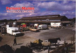 Kitchener-Waterloo Stockyards AndFarmers Market Waterloo Ontario Canada