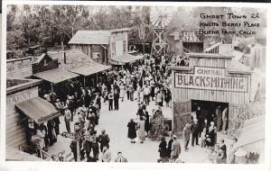 Knott's Berry Farm  Ghost Town 22 B&W RP